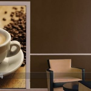 Ed Kuvatapetti Espresso Beans 100x210 Cm