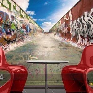 Ed Kuvatapetti Graffiti Half Pipe 280x200 Cm