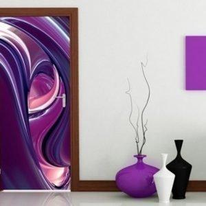Ed Kuvatapetti Purple Circles 100x210 Cm