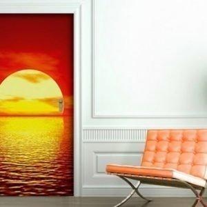 Ed Kuvatapetti Red Sunset 100x210 Cm