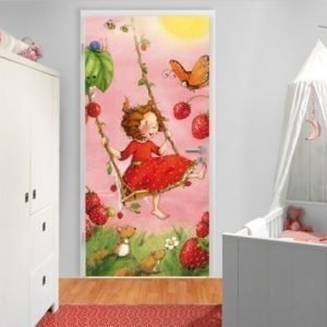 Ed Kuvatapetti Strawberry Fairy-Treeswing 100x210 Cm