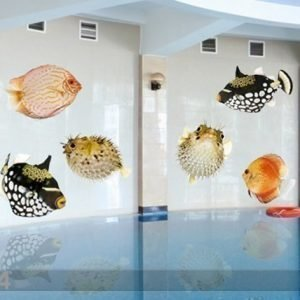 Ed Lasitarra Fish Set 130x64 Cm