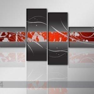 Ed Neljäosainen Öljymaalaus Hengitys 195x80 Cm