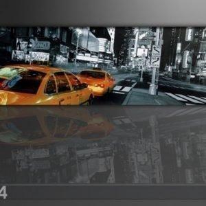 Ed Seinätaulu New York Taksi 120x40 Cm