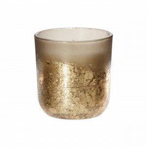 Eikki Candle In Cup Kynttilä Ruskea