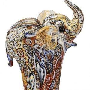Elefanttipatsas Monivärinen