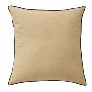 Ellos Candice Contrast Tyynynpäällinen Keltainen 50x50 Cm