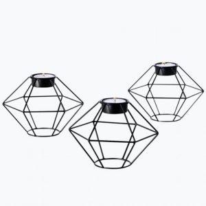 Ellos Diamant Kynttilälyhdyt 3-Pakkaus