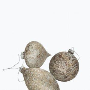Ellos Olivia Joulukuusenkoristeet 3-Pakkaus