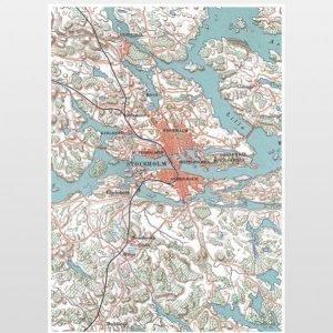 Ellos Stockholm Juliste 50x70 Cm