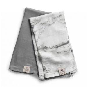 Elodie Details Bamboo Muslin Viltti Marble Grey