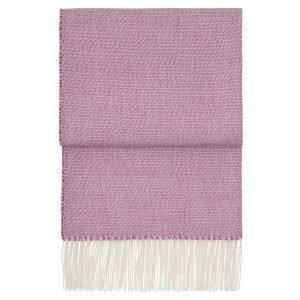 Elvang Breeze Huopa Dahlia / Swing Pink / Valkoinen 130x200 Cm