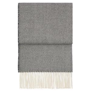 Elvang Breeze Huopa Musta / Flint Grey / Valkoinen 130x200 Cm