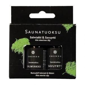 Emendo Salmiakki & Savuyrtti Saunatuoksu 2 X 10 Ml