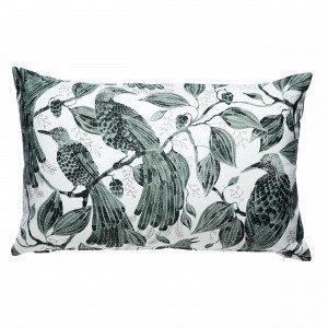 Emma Von Brömssen Paradis Cushion Koristetyyny Sinivihreä 45x70 Cm