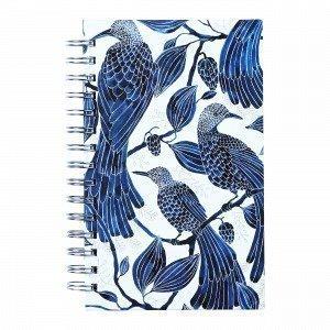 Emma Von Brömssen Paradis Notebook W Spiral Muistikirja Sininen 15x21 Cm