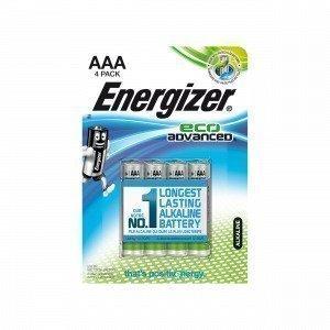 En Batteri Aaa 4-Pack Paristo Harmaa 1.1x7.95 Cm