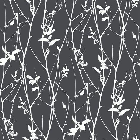 Engblad & Co Spring Tree Tapetti Musta