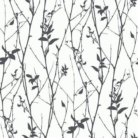 Engblad & Co Spring Tree Tapetti Valkoinen