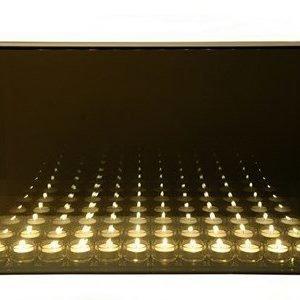 Excel Endless light 12 kynttilä harmaa