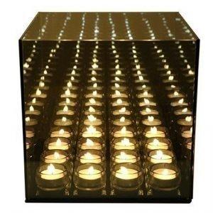 Excel Endless light 16 kynttilä harmaa