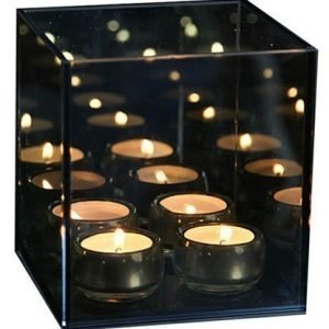 Excel Endless light 4 kynttilä harmaa