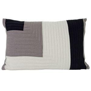 Ferm Living Angle Knit Tyyny Harmaa 40x60 Cm