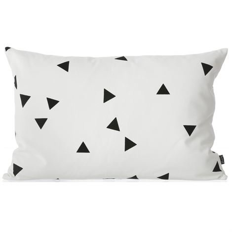Ferm Living Black Mini Triangle Tyyny 60x40 cm