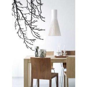 Ferm Living Branches seinätarra musta