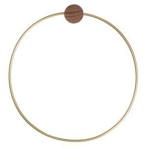 Ferm Living Brass Ripustin Circle