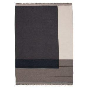 Ferm Living Colour Block Huopa Harmaa 130x180 Cm