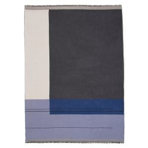 Ferm Living Colour Block Huopa Sininen 130x180 Cm