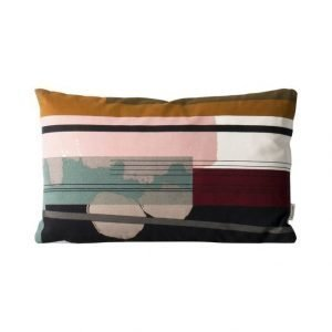 Ferm Living Colour Block Koristetyyny 40 X 25 cm
