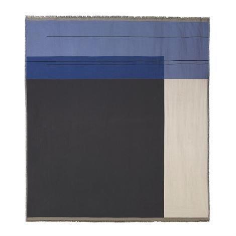 Ferm Living Colour Block Päiväpeite Sininen