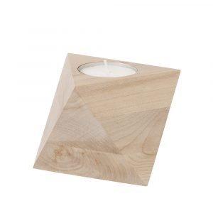 Ferm Living Cube Kynttilänjalka / Kynttilälyhty Vaahtera
