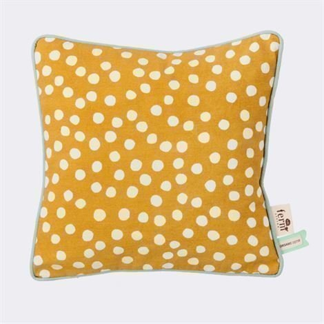 Ferm Living Dots Tyyny Curry 30x30 cm