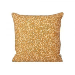 Ferm Living Dottery Tyyny Curry 50x50 Cm