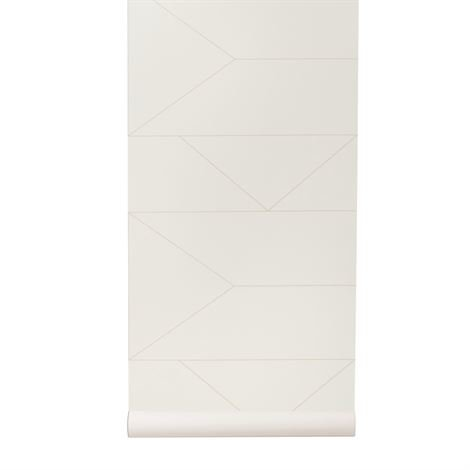 Ferm Living Lines Tapetti Off-White