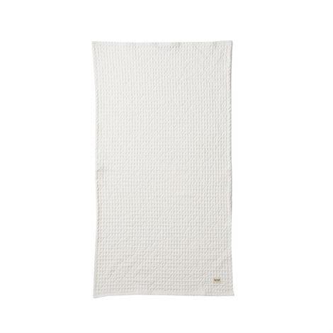 Ferm Living Luomupyyheliina Valkoinen 50x100 cm