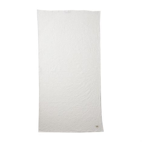 Ferm Living Luomupyyheliina Valkoinen 70x140 cm