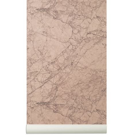 Ferm Living Marble Tapetti Rosee Rosee