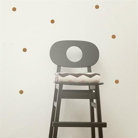 Ferm Living Mini Dots Seinäkoriste Kupari Kupari