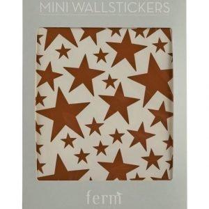 Ferm Living Mini Stars Sisustustarrat 49 kpl