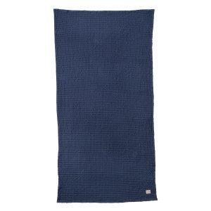 Ferm Living Organic Pyyheliina Sininen 70x140 Cm