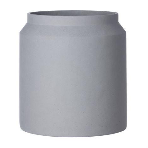 Ferm Living Pot Kukkaruukku Iso Vaaleanharmaa