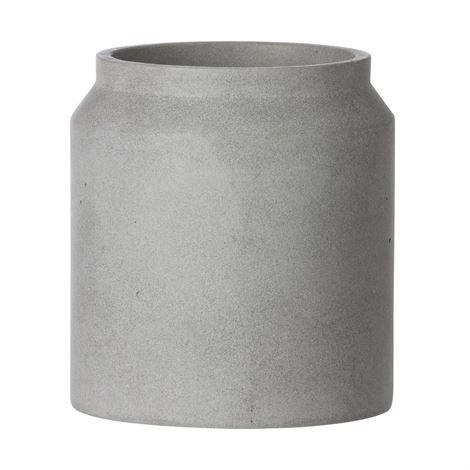 Ferm Living Pot Kukkaruukku Pieni Vaaleanharmaa