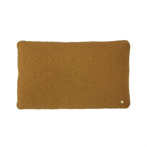 Ferm Living Quilt Tyyny 60x40 cm Curry Keltainen
