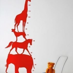 Ferm Living Stickers Animal Tower Sisustustarrat