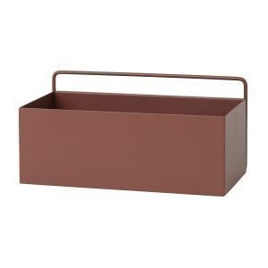 Ferm Living Wall Box Regtangle Ruskea