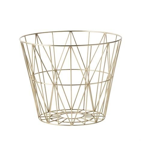 Ferm Living Wire Kori Messinki Pieni 40 x 35 cm